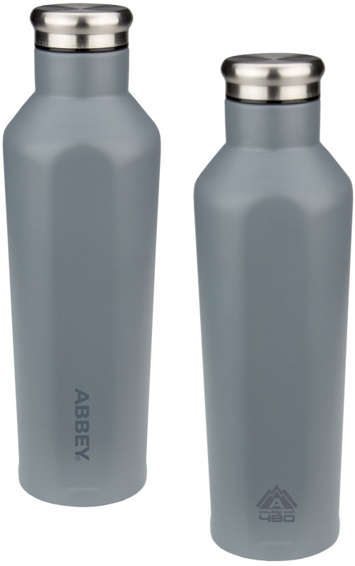 Abbey Godafoss Grey termosz, 480 ml